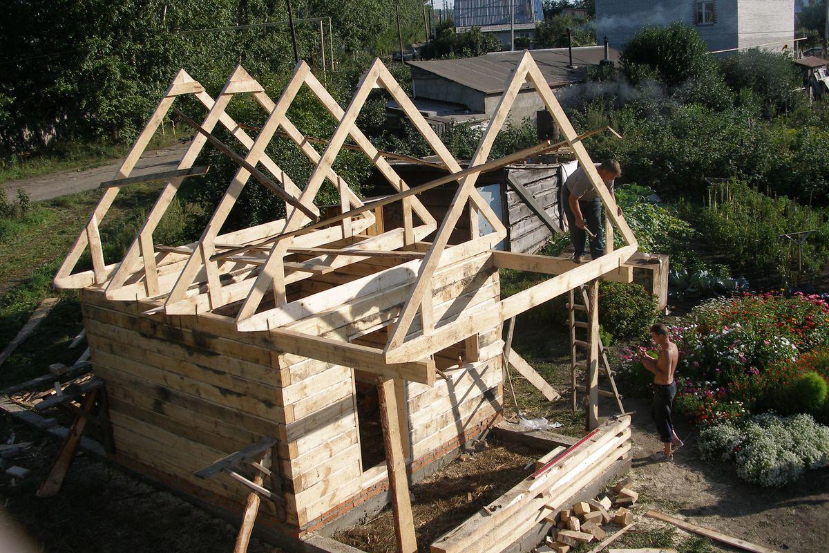 комплекс постройка крыши своими руками фото день шоумен