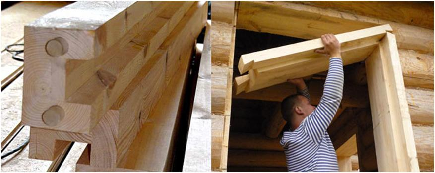 Обсада в деревянном доме своими руками