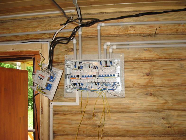 Электропроводка в деревянной бане своими руками пошаговая